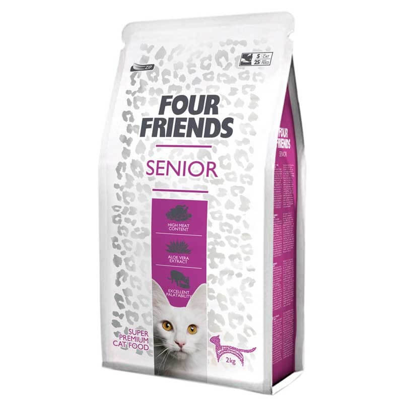 Four Friends Senior kattefoder