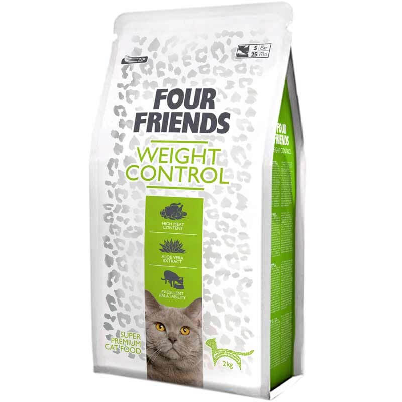 Four Friends Weight Control kattefoder