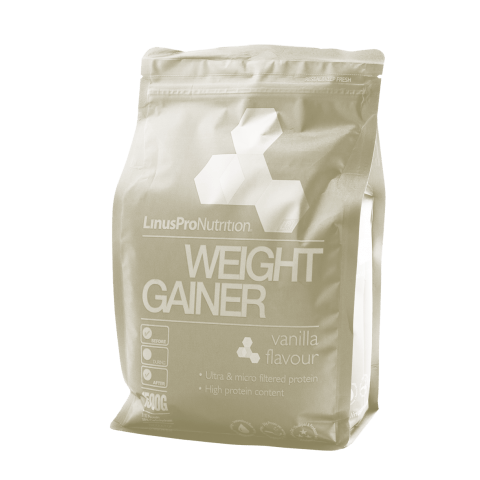LinusPro Weight Gainer - En god portion muskelopbygning, tak