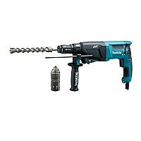 Makita bore-/mejselhammer 800 W HR2631FTJ sds+