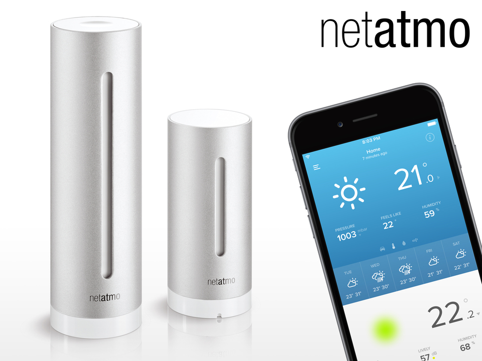 NetAtmo Urban Weather Station WiFi