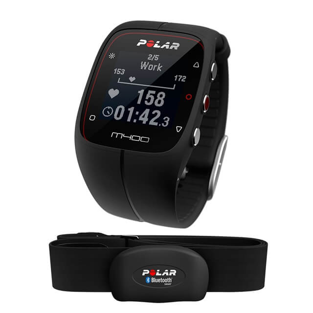 Test af Polar M400 HRM – Heart rate monitor