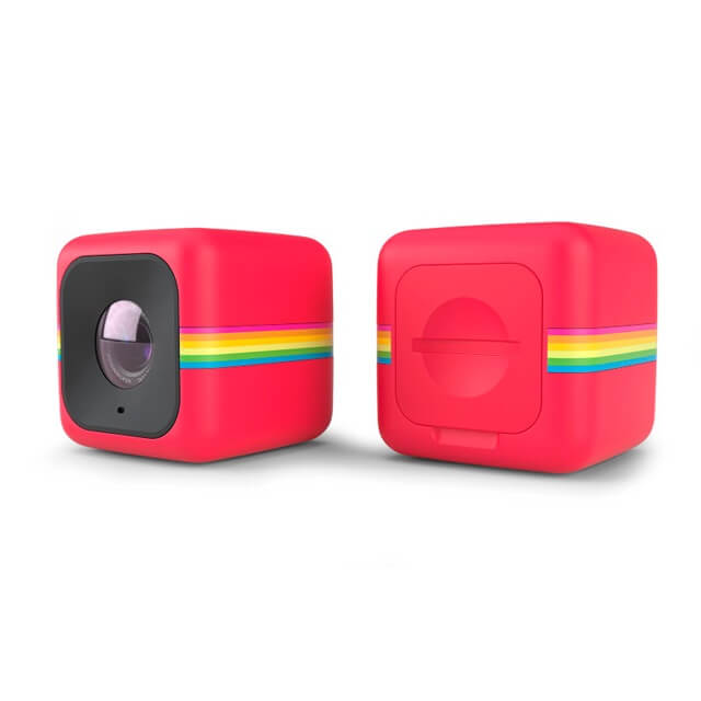 Polaroid Cube + Red